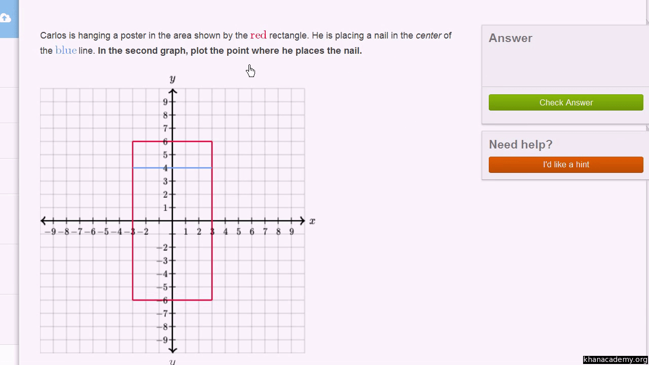 hight resolution of Coordinate plane word problem examples (video)   Khan Academy