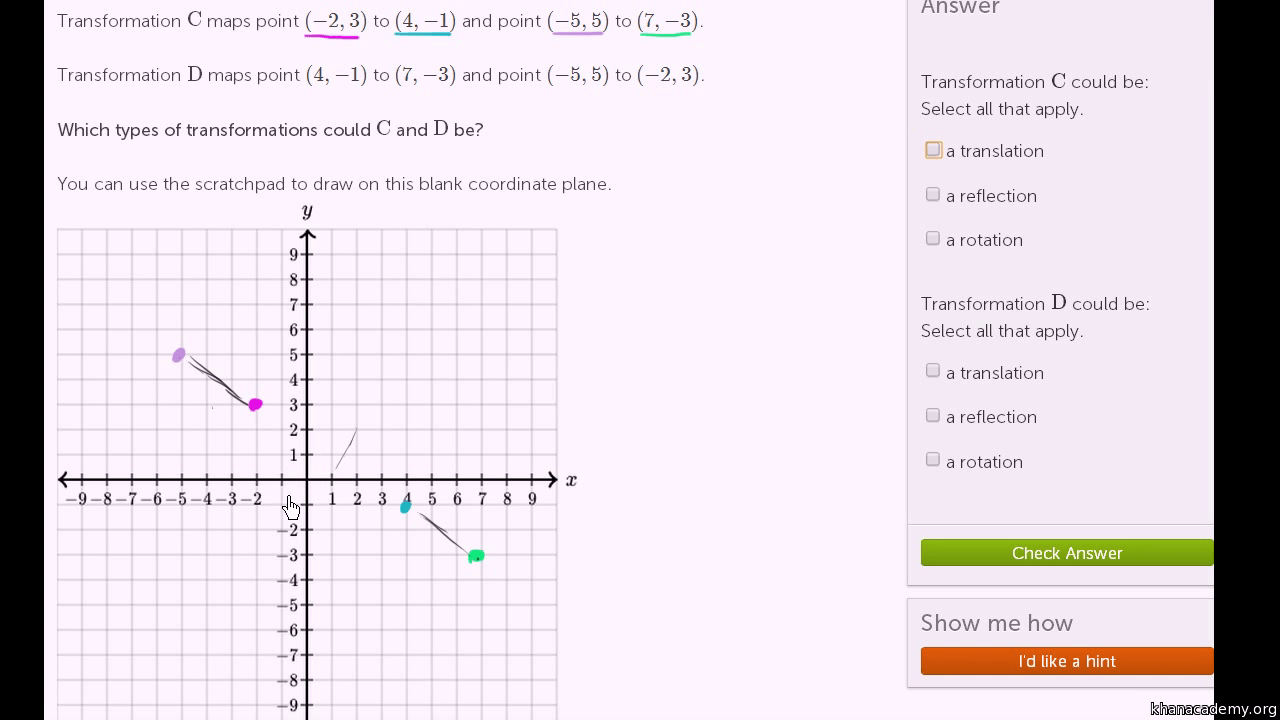 hight resolution of Transformations   Geometry (all content)   Math   Khan Academy