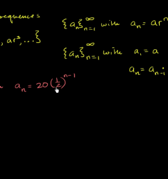 Intro to geometric sequences (advanced) (video)   Khan Academy [ 720 x 1280 Pixel ]