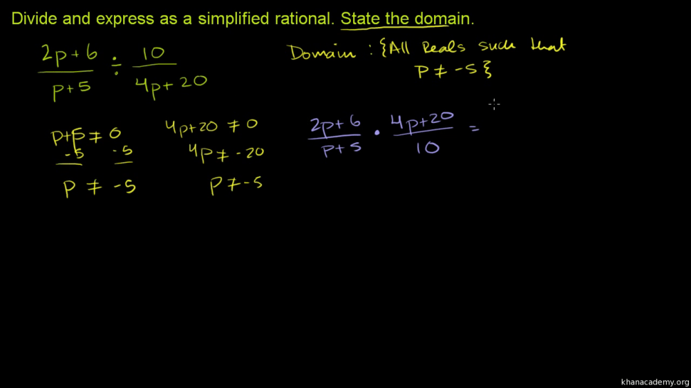 medium resolution of Rational expressions