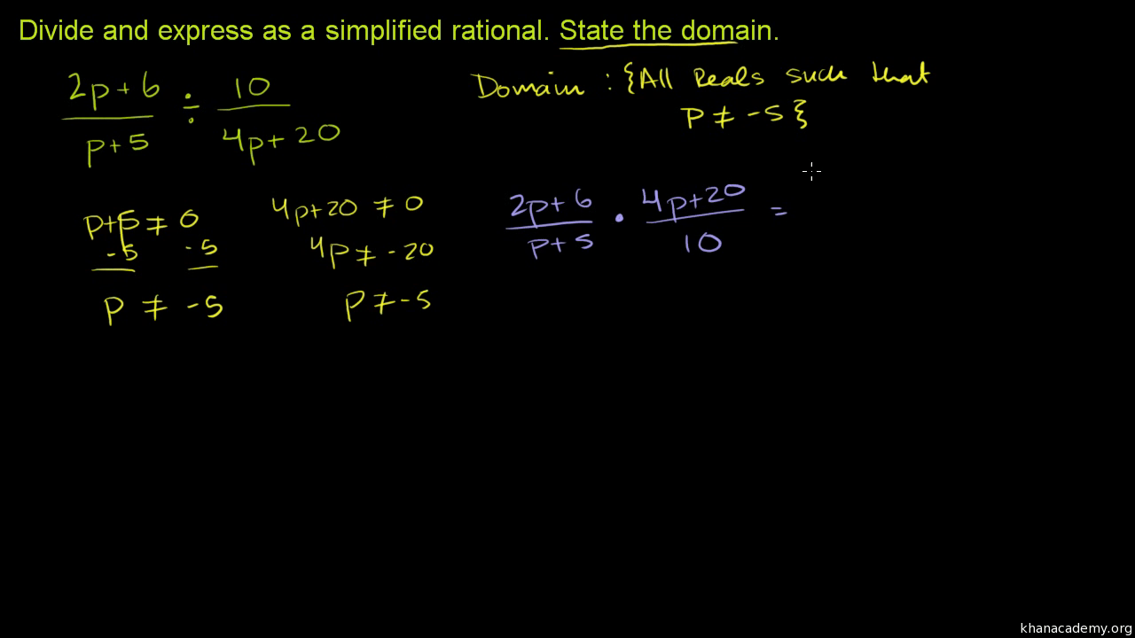 hight resolution of Rational expressions