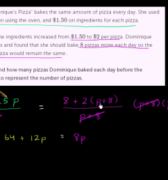 Rational equation word problem (video)   Khan Academy [ 720 x 1280 Pixel ]