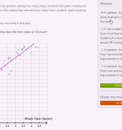Data and modeling   8th grade   Math   Khan Academy [ 720 x 1280 Pixel ]