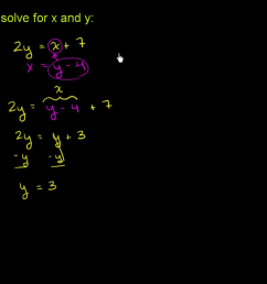 Systems of equations   8th grade   Math   Khan Academy [ 720 x 1280 Pixel ]