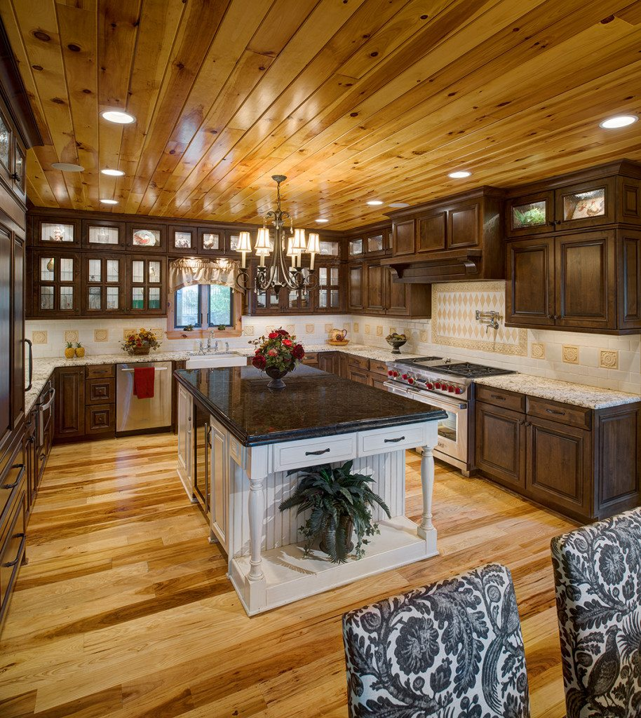 Bennett Log Cabin Design by Katahdin Cedar Log Homes