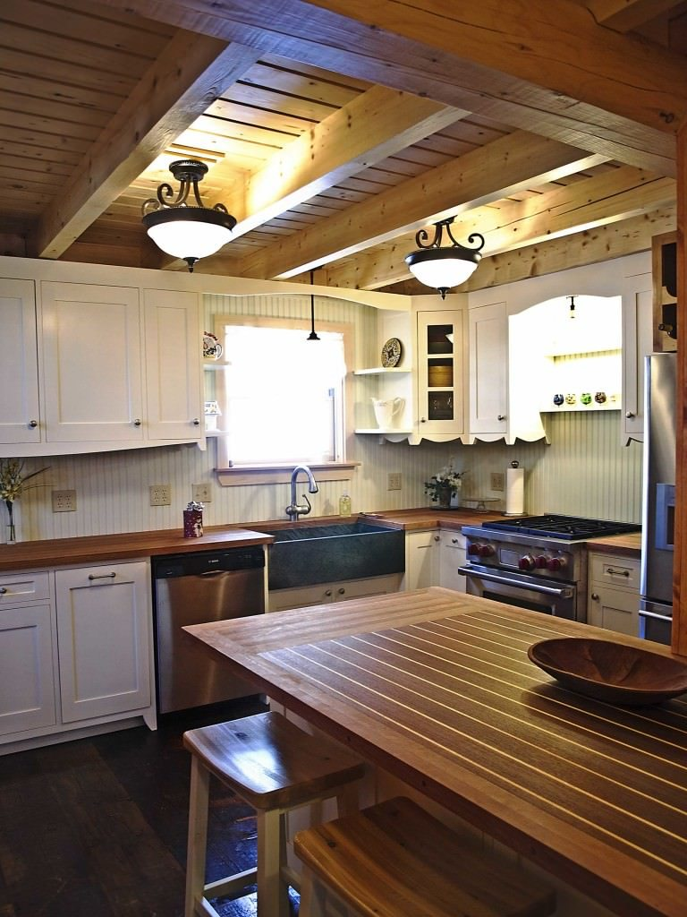 Kitchen Archives  Katahdin Cedar Log Homes