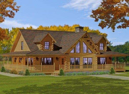 Custom Log Home Floor Plans Katahdin Log Homes