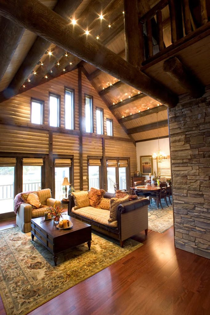 living room design tool with leather furniture pictures extreme makeover - katahdin cedar log homes