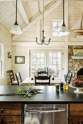 Interior Finishing Options Tips For Maximizing Wood Walls Katahdin Cedar Log Homes