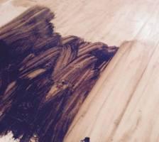 Make Distressed Wood Floors Craftsman Blog   Kelseybash ...