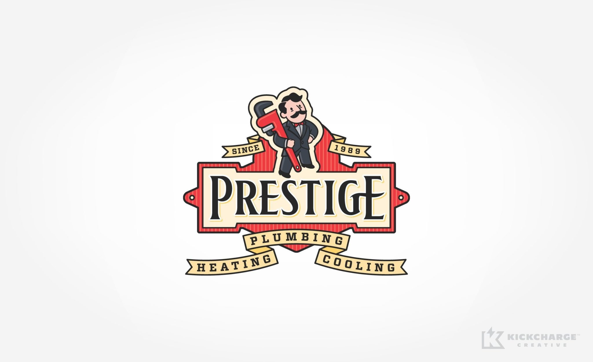 Prestige Plumbing Heating  Cooling  KickCharge Creative