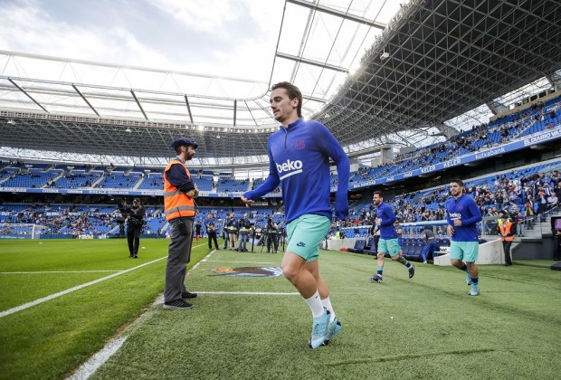 Griezmann looks ahead to first El Clasico