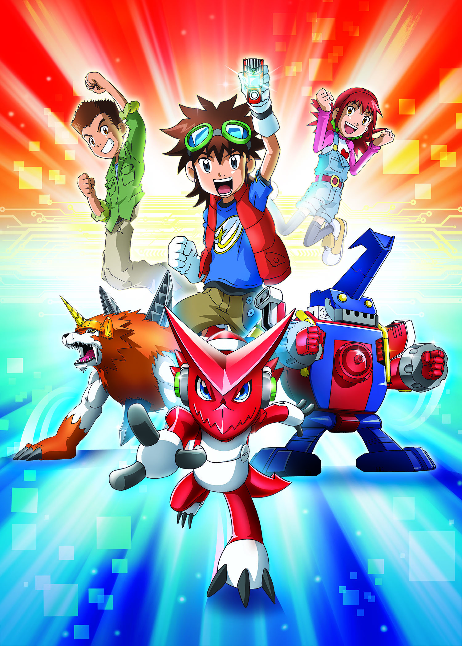 Digimon Fusion heads to Spain  Kidscreen