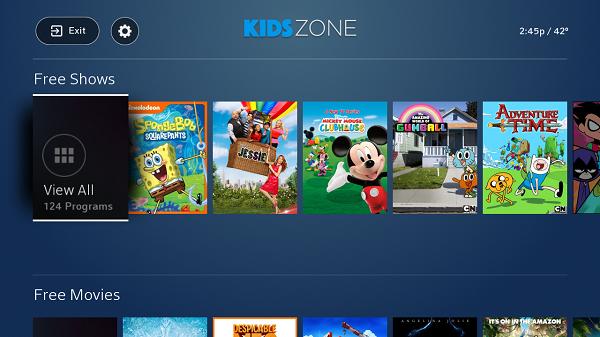 Comcast Unveils Kids Zone Ikids