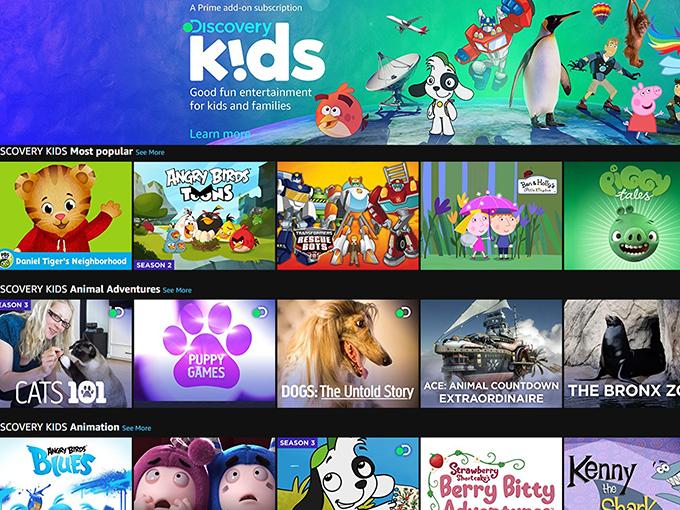 Kidscreen Archive Amazon Channels Uk Adds Discovery Kids