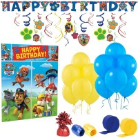 Birthday Express Paw Patrol Room Decorating Kit