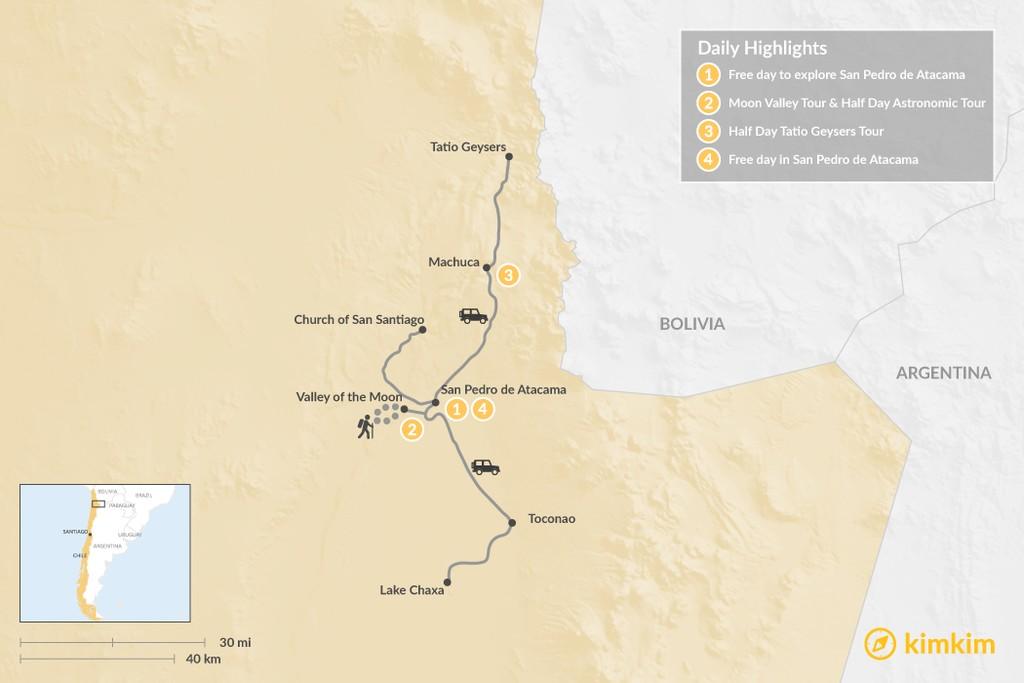 Explore the Atacama Desert - 4 Days   kimkim