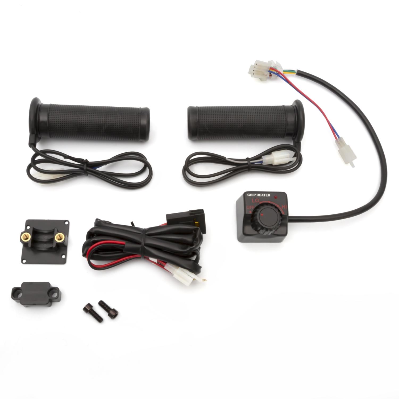 kimpex 13 5 v handlebar grip heater kit 165137 [ 1500 x 1500 Pixel ]