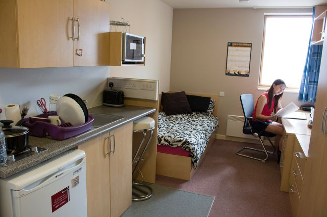 Accommodation Halls Of Residence Room Types And Costs Iqwave En Suite Studio