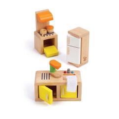 Hape Kitchen Backyard Design 德國hape愛傑卡 角色扮演娃娃屋居家系列 現代廚房組合 金石堂 現代廚房