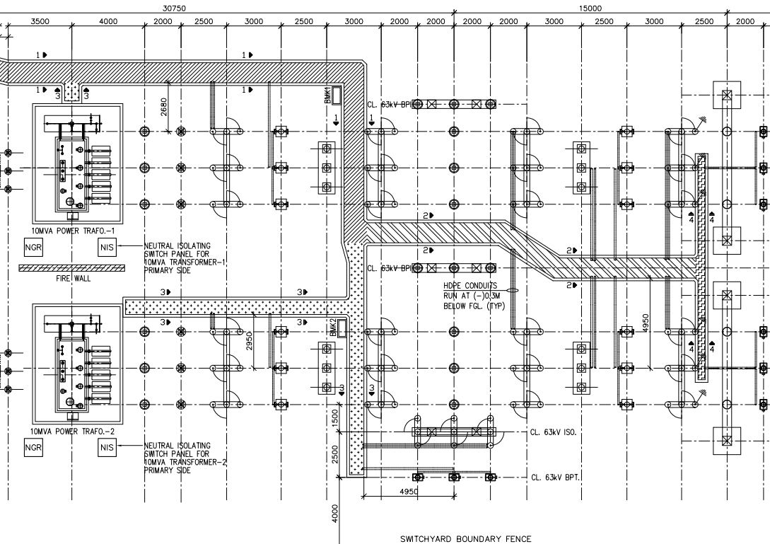 Engineering Drawings for Substations and Transmission