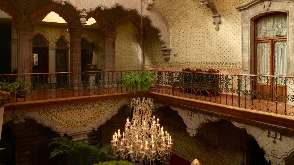 La Casa de La Marquesa Queretaro Mexico