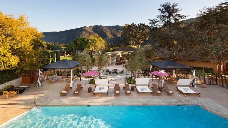 Bernardus Lodge Spa Carmel Monterey California