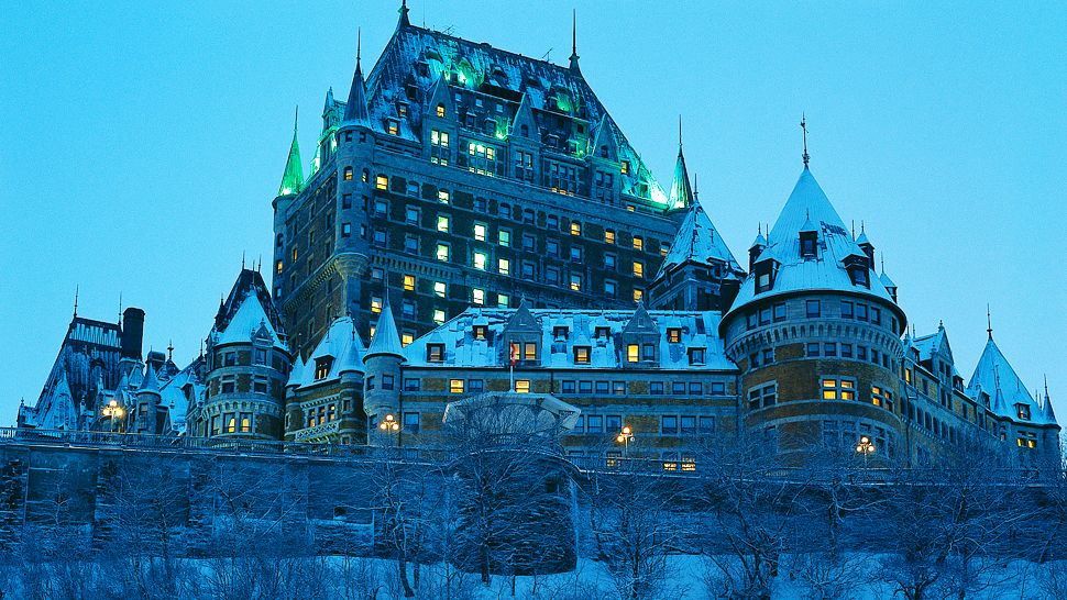 Fairmont Le Chteau Frontenac CapitaleNationale Quebec