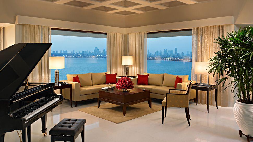 hotel with living room interior design the oberoi mumbai maharashtra piano