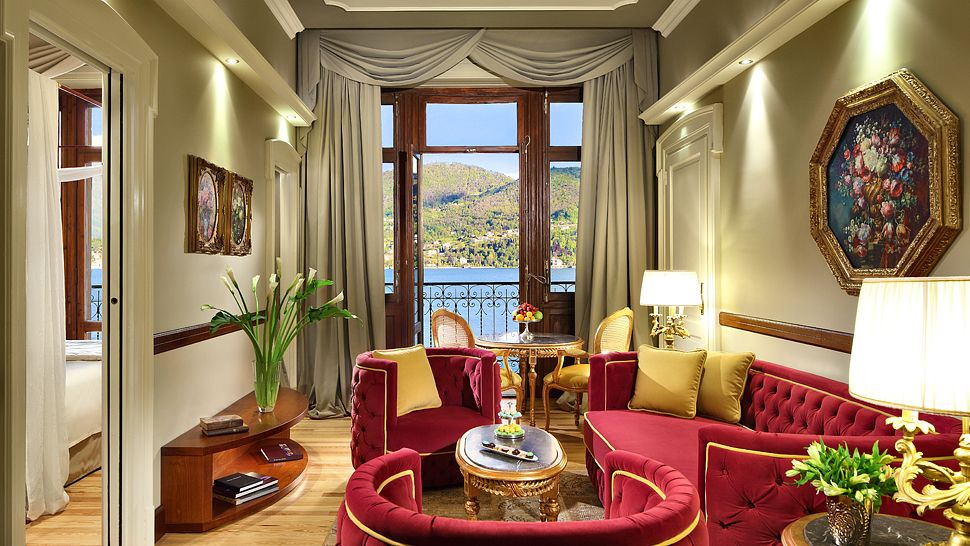 pictures of country living rooms color schemes for with grey furniture grand hotel tremezzo, lake como, lombardy