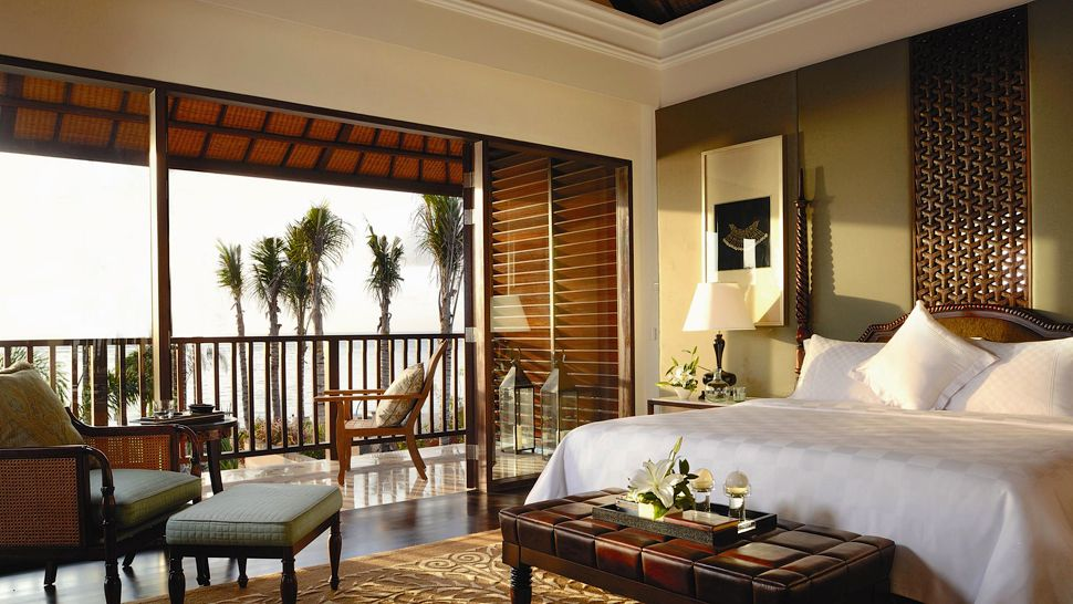 If you are looking for inexpensive bedroom decorating ideas, check out these great pieces for under $100. The St. Regis Bali Resort, Bali, Indonesia