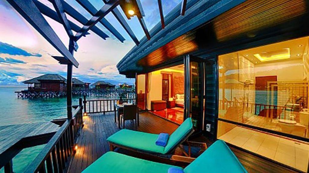 Gayana Marine Resort. Sabah. Borneo