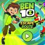 Ben 10 Escape Route Game Online Kiz10
