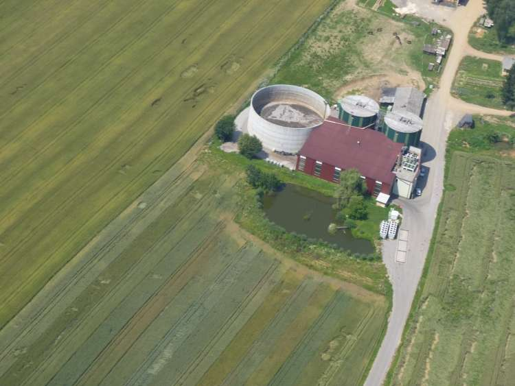 Bioplinarna na Lokvah pri Črnomlju