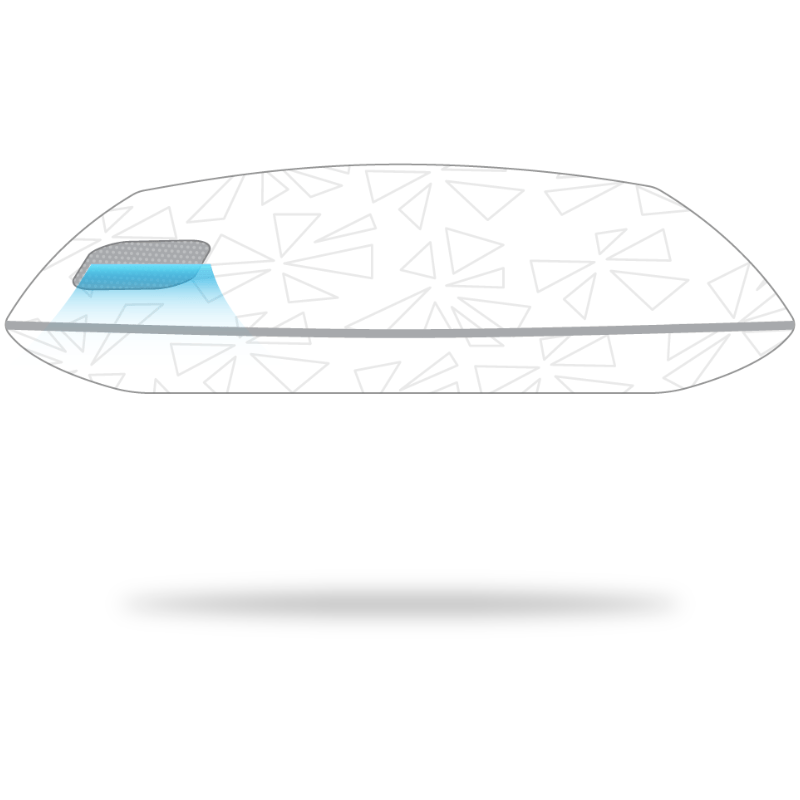 lightning 2 0 performance pillow by
