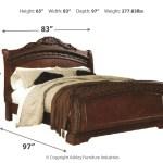 North Shore King Sleigh Bed By Millennium By Ashley B553b29 Pierce Furniture Mattress