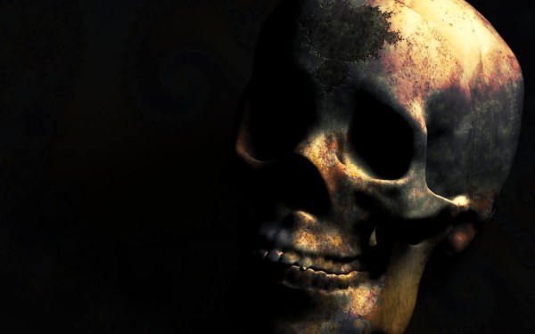 Skulls Fractals 1920x1200 Wallpaper High Quality