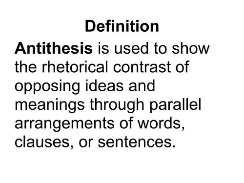 The Difference Between Oxymoron And Antithesis KnowsWhy Com