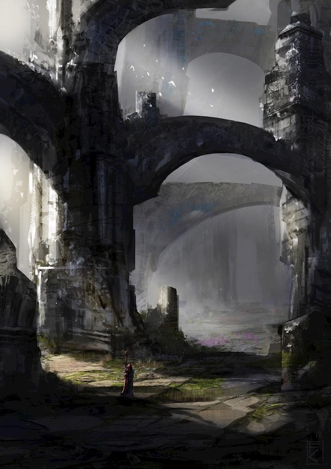 passage through arches click