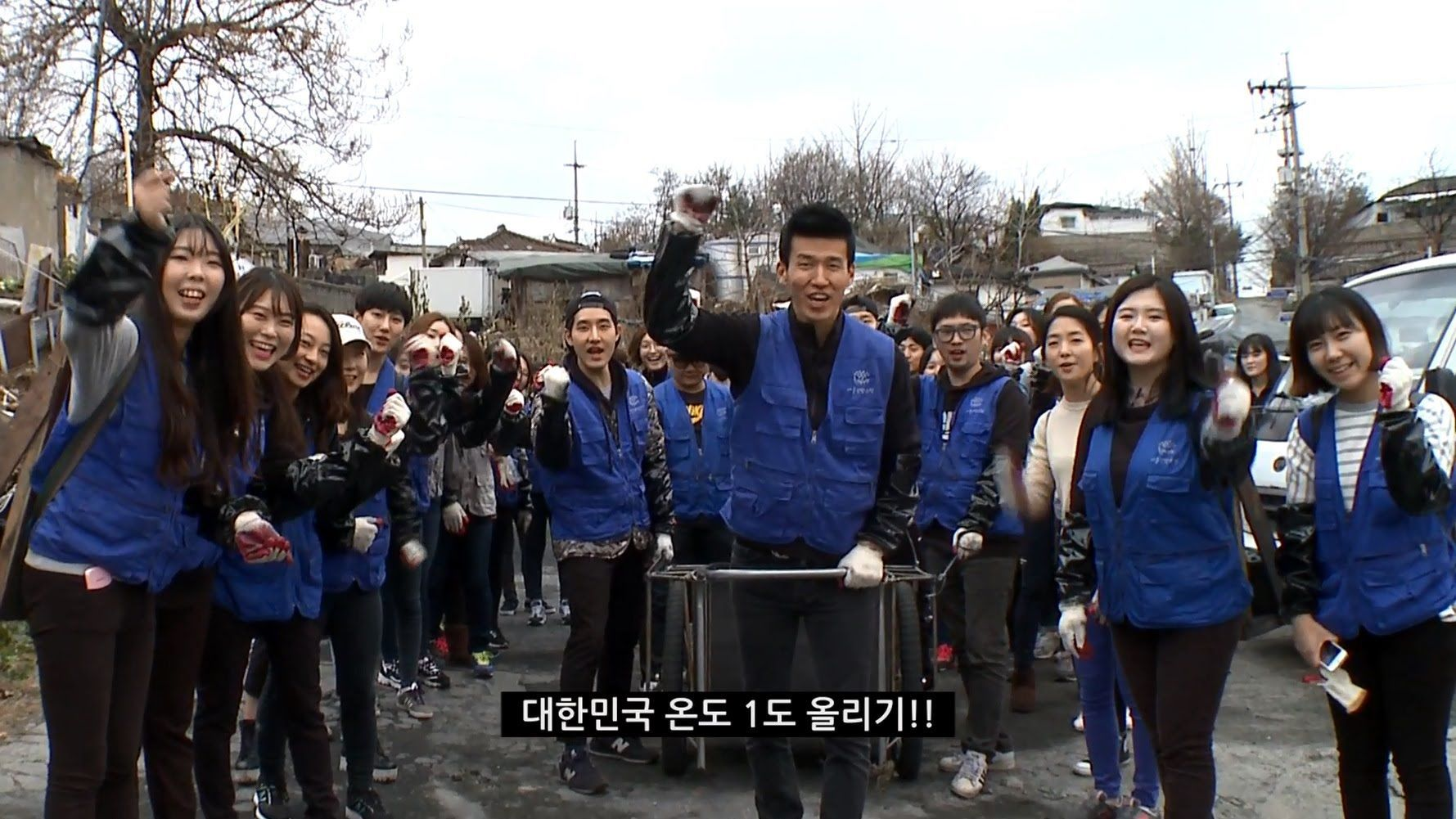 YG Family delivers charcoal to families in community service campaign