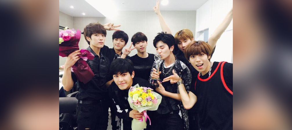 "INFINITE ""Bad"" - 4th win - INFINITE's Official Twitter"