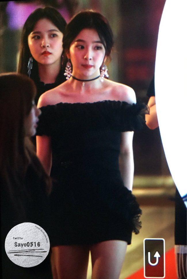 Red Velvet Irene Wears Revealing Dress To SBS Gayo