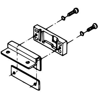 Technics Plastikwange für Haubenscharnier SL-1200/1210
