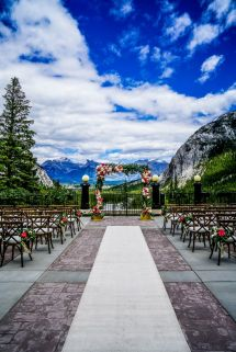 Vow Renewal Banff Springs Hotel