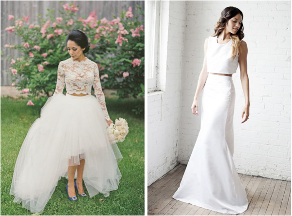 Totally Chic Wedding Dress Seperates