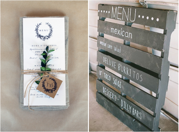 Elegant Wedding Menu Ideas And Inspiration For Your Lake
