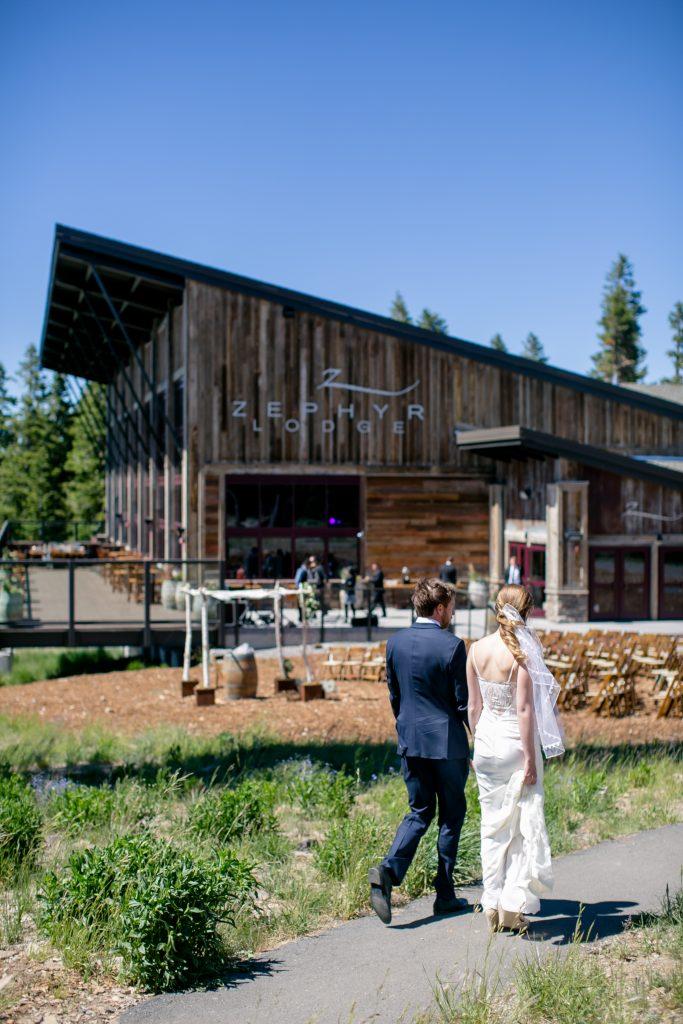 Zephyr Lodge Wedding at Northstar California