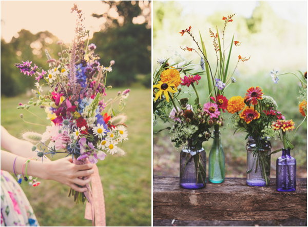 Incorporate Wildflowers At Your Lake Tahoe Wedding