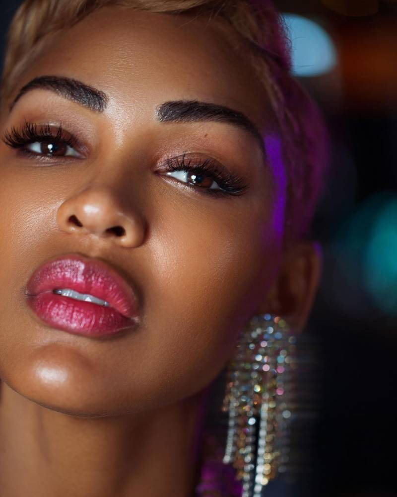 Meagan Good Opens Up About Her Eyebrow Transplant Here's ...