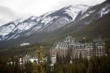 Gorgeous Winter Wedding Fairmont Banff Springs